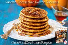 Pumpkin Cheesecake Protein Pancakes Recipe