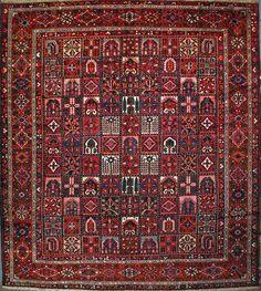 Handmade Bakhtiari Persian Rug