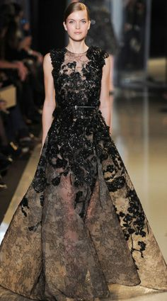 Elie Saab Haute Couture Spring/Summer 2013 runway, Paris Fashion Week.