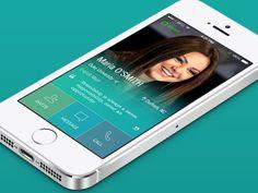 Profile Student App - by Yasser Achachi   #ui