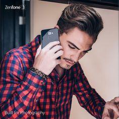 #ZenFone 3 Plaid, Selfie, Shirts, Fashion, Gingham, Moda, Fashion Styles, Dress Shirts, Fashion Illustrations
