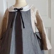 Beautiful French children's sewing patterns and vintage cloth.  Another nudge towards learning to sew better.