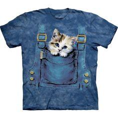 Tričko Kočka v kapse