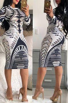 Amaldress OL Style Poker Printed Knee Length Dress(Plus Size) Elegant Dresses, Sexy Dresses, Cute Dresses, Fashion Dresses, Party Dresses, Evening Dresses, Wedding Dresses, Stylish Outfits, Cute Outfits