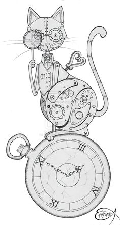 Cat Time <> Steampunk Time