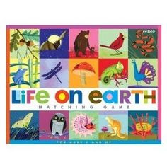 Charley Harper Matching Game @ Amazon.com: Eeboo Life on Earth Matching Game: Toys & Games