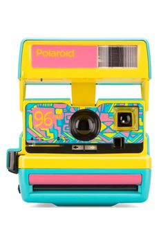 """Meet the Polaroid 600 Cam"""", an original Polaroid 600 analog instant camera from customized with a limited edition Fresh Blue colorway and a vibrant custom faceplate. Nikon D5200, Dslr Nikon, Dslr Lenses, Photo Polaroid, Polaroid Pictures, Polaroids, Polaroid Cameras, Vintage Polaroid Camera, Polaroid Instax"""