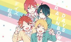 nijiiro days cuties