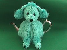 Hand Knit Poodle Tea Cosy