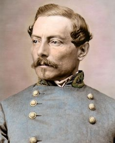 General P G T Beauregard Civil War Photograph