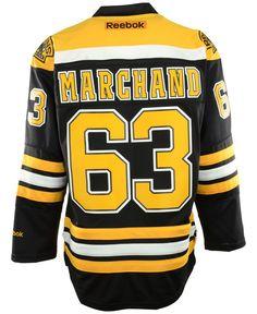 Reebok Men s Brad Marchand Boston Bruins Premier Player Jersey Men - Sports  Fan Shop By Lids - Macy s 7f5182bf0