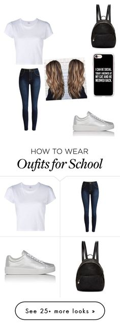 """""""School 2016"""" by starrjames on Polyvore featuring RE/DONE, Casetify, Prada Sport and STELLA McCARTNEY"""