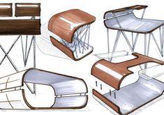 Flex Table by Joshua Welt, via Behance.
