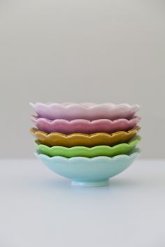 Lotus Bowl from Rachel Carley Ceramics Luxury Cushions, Little Cakes, Elegant Table, Side Plates, Scalloped Edge, Lotus, Decorative Bowls, Dining Table, Pottery