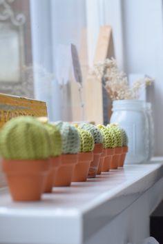 Een tijdje terug schreef ik al over een kleine cactus verslaving :) Nou ik kan je vertellen, die is nog niet over hahaha. Dit x maakte ik een heleboel mini varianten die meteen een glimlach op je gezicht toveren.