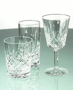 Waterford Barware, Lismore Double Old Fashion Glass 12oz. - Double Old Fashioned - Glasses - Macy's