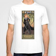 Sorsha Nouveau - Willow T-shirt by CaptainLaserBeam - $18.00