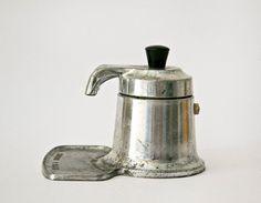 Vintage Italian coffee maker OMG aluminum di ilivevintage su Etsy,