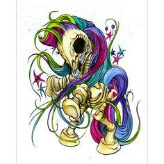 alex pardee's my little pony