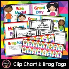 Implement a Behaviour Chart and Brag Tags system with this Clip Chart in your classroom. This behaviour chart pack includes;1. Clip Chart with expectations for most levels. This helps students understand what they need to be doing to achieve each level.Levels;Role Model; I am making good choices, participating in class activities, working cooperatively with others, showing respect and trying my best at all times.Great Day; I am making good choices, working cooperatively with others, showing…
