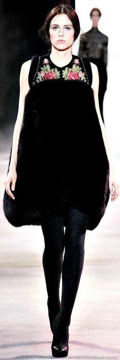 Ulyana Sergeenko Haute Couture Fall Winter 2013-14 collection