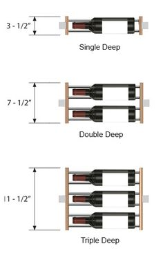 Choose Millesime wine racks for maximum visual impact in your wine cellar, easy bottle access & high storage capacity. Contact us for a design & quote today! Unique Wine Racks, Wood Wine Racks, Wine Rack Wall, Glass Wine Cellar, Home Wine Cellars, Wine Rack Design, Wine Cellar Design, Wine Shelves, Wine Storage