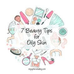7 Beauty Tips for Oily Skin - if you have oily skin, we've got 7 tips for making it your best skin ever! tips for teens tips in tamil tips tricks for face for hair for makeup for skin Tips For Oily Skin, Oily Skin Care, Skin Care Regimen, Dry Skin, Skin Care Tips, Beauty Hacks For Teens, Skin Care Remedies, Ingrown Hair, Good Skin