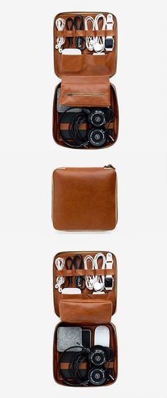 Travel / Storage for cords, headphones, keepsakes, tech items, and more