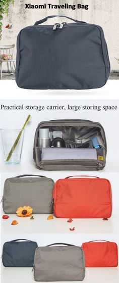 nylon plaid fabric, lightweight and high toughness, Water resistant, Storage space of 3L for Xiaomi Traveling Bag