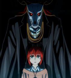 Mahoutsukai no Yome. The Ancient Magus' Bride. Elias & Chise. ❤️