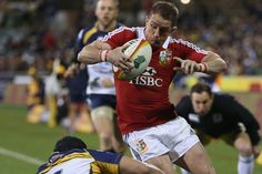 ACT Brumbies 14 British & Irish Lions 12 - Shane Williams not quite a fairytale return Rugby Images, Rugby News, British And Irish Lions, Welsh Rugby, Australia Tours, Acting, Running, Fairytale, Face
