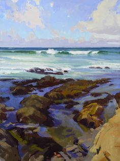 Marcia Burtt's Santa Barbara landscapes... she gets it.
