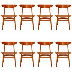Hans Wegner Ch-30 Dining Chairs