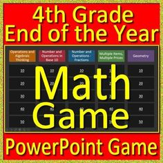 2nd grade nwea map test prep reading literature and vocabulary game 4th grade end of the year math game and test prep fandeluxe Gallery