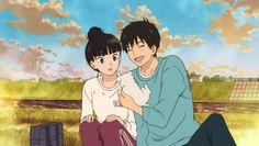 """This is from the anime """"Kimi ni Todoke. """" The couple in the picture is Shota Kazehaya and Sawako Kuronuma."""