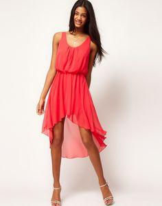 Love Chiffon Hi Lo Maxi Dress - Same as the Jade dress I just posted. Hi Low Dresses, Types Of Dresses, Cute Dresses, Short Dresses, Maxi Dresses, Dress Skirt, Dress Up, Jade Dress, Wedding