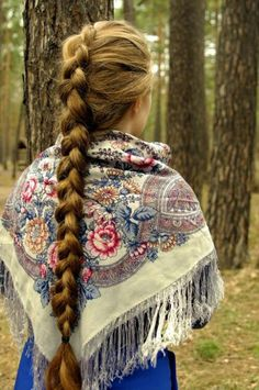 long hair, slavic, and braid Bild