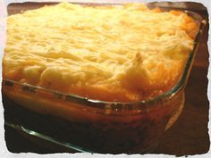 Homemade Cottage pie, a Gordon Ramsey recipe