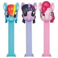 1 X My Little Pony Pez Dispenser and Candy Set (Each) PEZ Candy http://www.amazon.com/dp/B00VGIWSK0/ref=cm_sw_r_pi_dp_wMR2wb1PV58E6