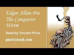 "Vincent Price reads Edgar Allan Poe's ""The Conqueror Worm"""