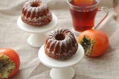 Cake très moelleux au kaki , persimon cake recipe | On dine chez Nanou