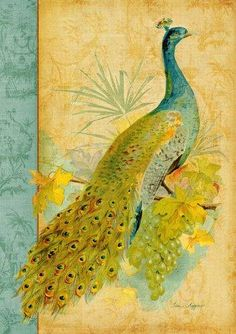 allthingspeacock.com - Peacock Garden Decor