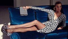 Pied-de-poule - Daria Werbowy for Salvatore Ferragamo Daria Werbowy, Salvatore Ferragamo, Fashion Models, Luxury Fashion, Womens Fashion, Fashion Trends, Fashion Glamour, Fashion Hub, Red Fashion