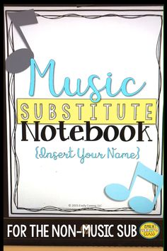 Need more sub plans? This product included an editable elementary music sub tub with activities that a non-musical sub can easily implement.