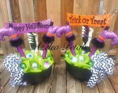 Custom Halloween Door Entrance Decor Spooky Front by Azeleapetals
