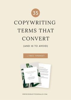 If you ever feel lost for words, try one of these 35 tried-and-true copywriting words that convert. // #copywriting #copywritingtips #contentwriting #marketing #onlinebusiness #entrepreneurcopywriting words that convert
