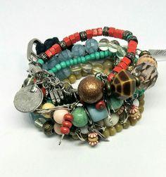 Pulseiras individuais, perfeitas pra você montar o seu mix! ❤️ #bohostyle #jewellery #acessorios #corderose