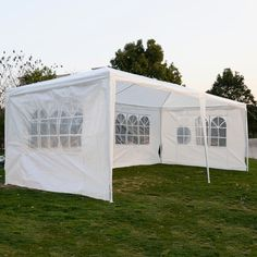 10'x20'Outdoor Canopy Party Wedding Tent Heavy duty Cater Events Gazebo Pavilion