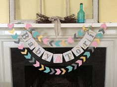 Arrow Head Garland Tribal Baby Shower Decoration by ClassicBanners