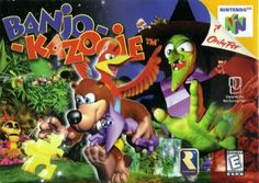 Banjo Kazooie (Nintendo 64). Every time you die or quit or something, the witch appears on screen. Scared the shit out of little 5 year old me.